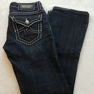Miss Me jeans size 26 bootcut with 30 inch inseam